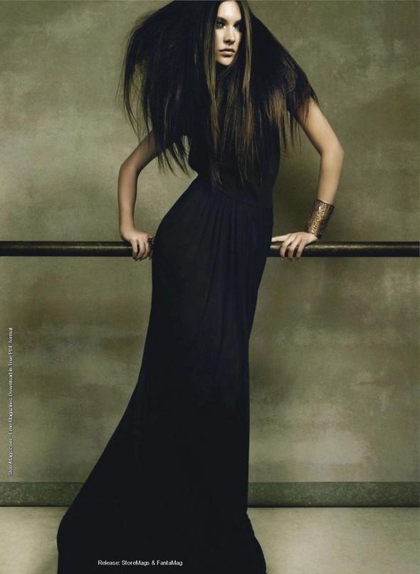 Съёмка: Жаклин Яблонски для Harper's Bazaar. Изображение № 9.