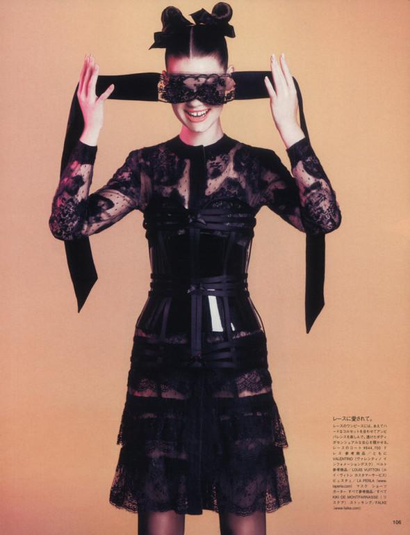 Съёмка: Келли Миттендорф для японского Vogue. Изображение № 5.