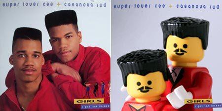 20 Обложек хип-хоп альбомов изLego. Изображение № 40.