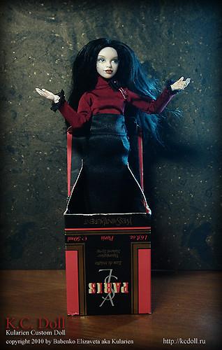 K.C.Doll. Миниатюра на шарнирах. Изображение № 4.