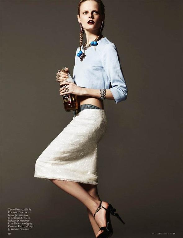 Ханне Габи Одиле в фотосессии Майкла Шварца . Изображение № 8.