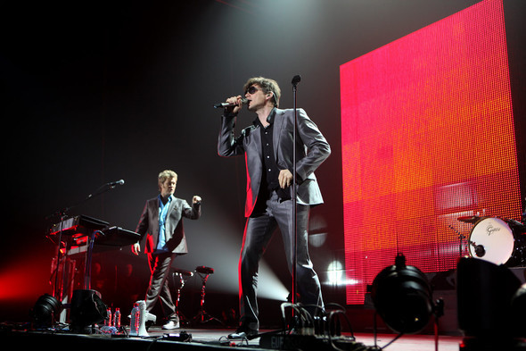 22 ноября вМоскве состоялся концерт A-ha. Изображение № 4.