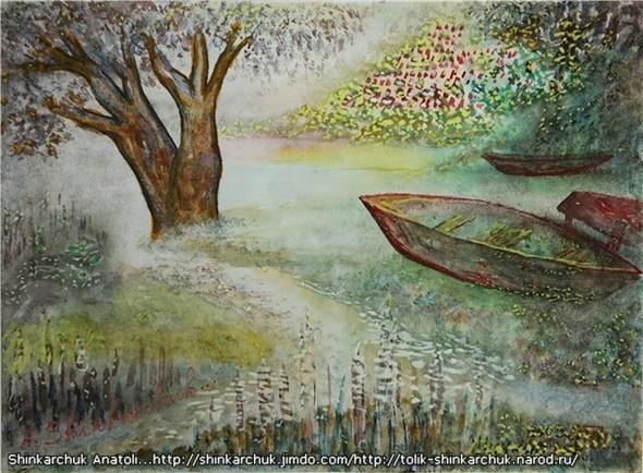 Shinkarchuk Anatoly watercolor and Japan Шинкарчук Анатолий акварель и Япония. Изображение № 14.