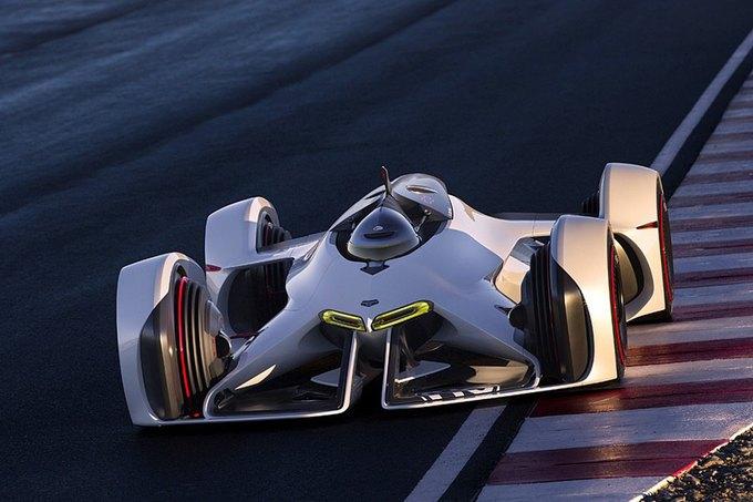 Chevrolet создала суперкар для Gran Turismo. Изображение № 34.