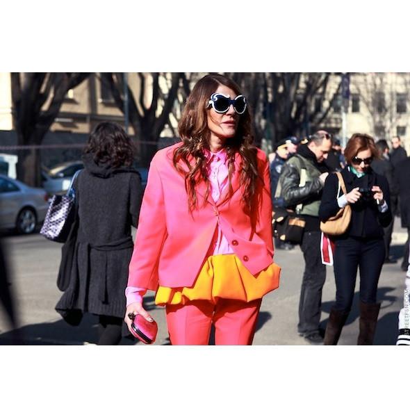 Изображение 75. На полях: 10 тенденций уличного стиля с прошедших недель моды.. Изображение № 75.