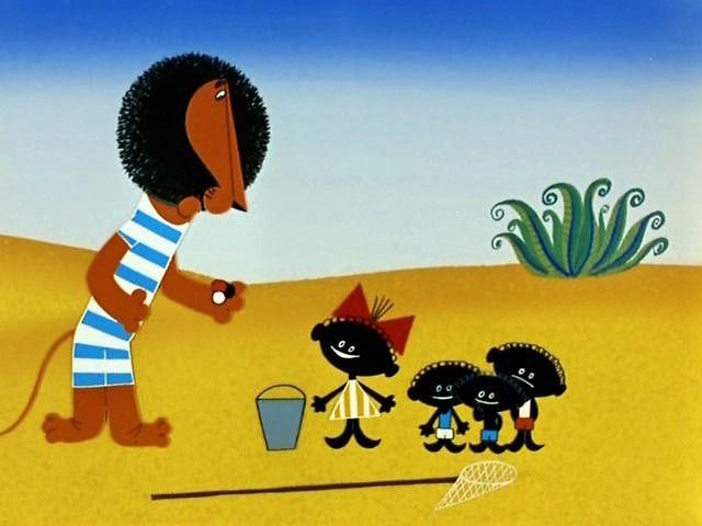 Кадр из мультфильма «Каникулы Бонифация». Изображение № 3.