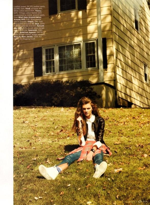 Съёмка: Али Стивенс для Elle. Изображение № 10.