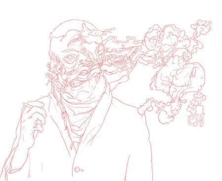 Чернильно-кофейные призраки Мэтью Вудсона. Изображение № 27.