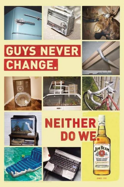 Jim Beam: Парни никогда не меняются. Изображение № 1.