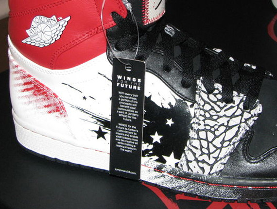 Dave White x Air Jordan 1. Изображение № 4.