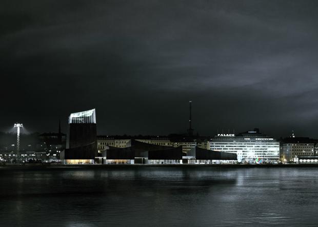 Показан проект Музея Гуггенхайма в Хельсинки . Изображение № 3.