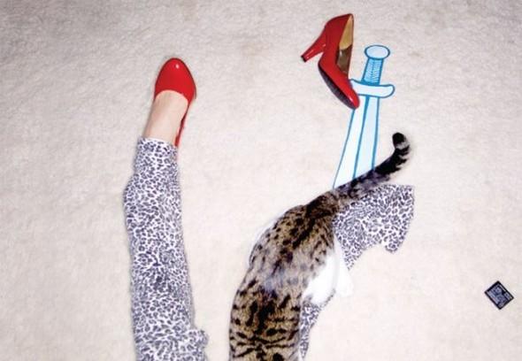New animal models - животные в фэшн съемках. Изображение № 9.