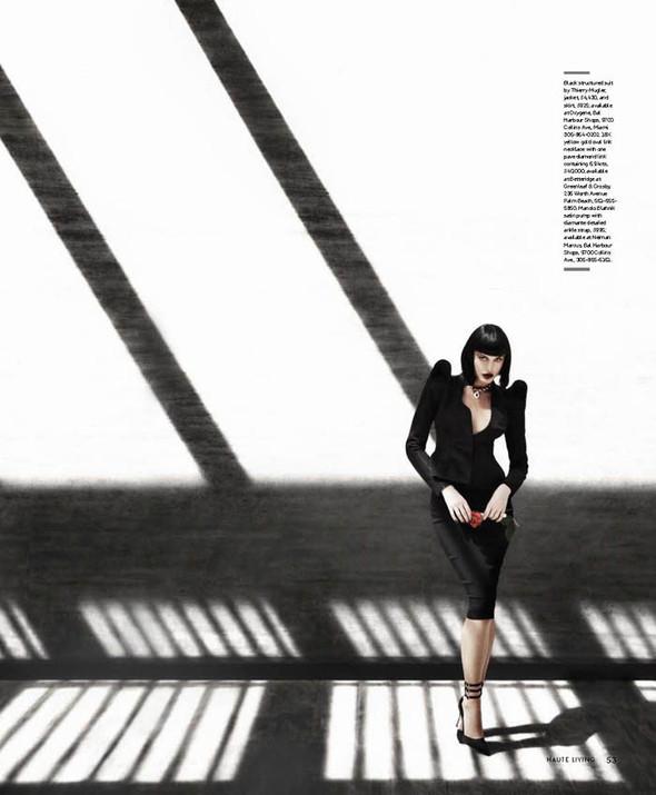 Съемка: Джессика Б. для Haute Living Miami, сентябрь 2011. Изображение № 3.