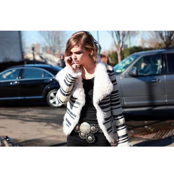 Изображение 126. На полях: 10 тенденций уличного стиля с прошедших недель моды.. Изображение № 126.