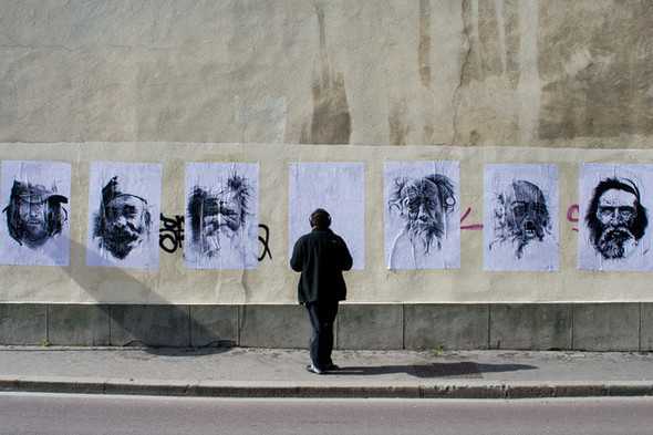 Стрит-арт от французкой команды Murmure - Artisme. Изображение № 15.