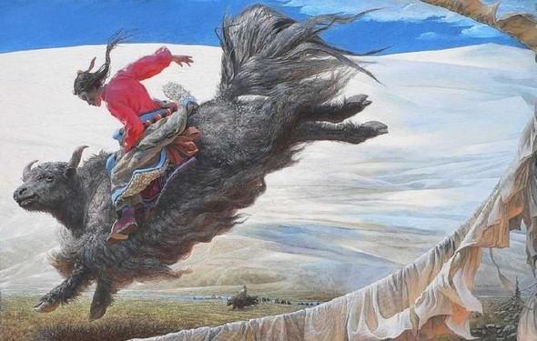 Wang Yi Guang. Feitain, или летающий пух. Изображение № 21.