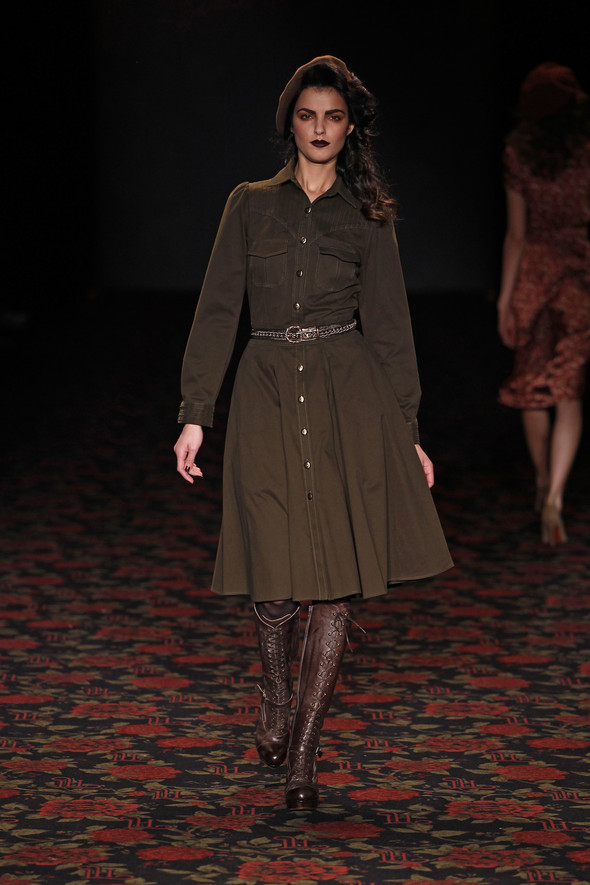 Berlin Fashion Week A/W 2012: Lena Hoschek. Изображение № 30.
