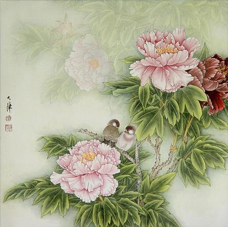 Птицы ицветы. Изображение № 13.
