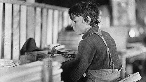 Эксплуатации детского труда в Америке (1910 год).И эмигранты США. Изображение № 23.