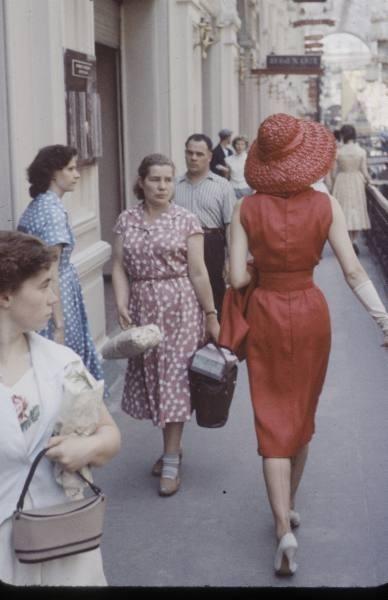 1959 г. Christian Dior в СССР. Изображение № 8.