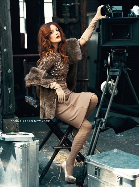 Кампания: Дрю Бэрримор для Neiman Marcus 2011. Изображение № 6.