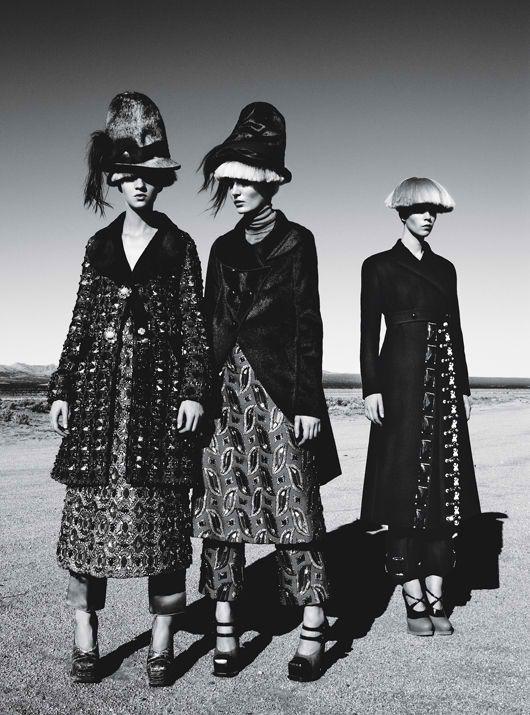 Съемки: Numero, Vogue, W и другие. Изображение № 70.