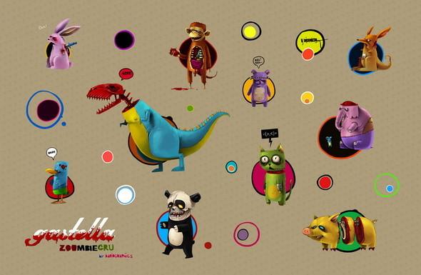 Laptop stickers. Изображение № 15.