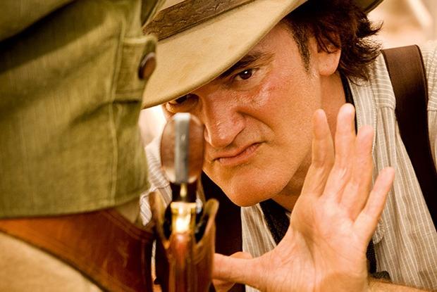 Квентин Тарантино в эпизоде «Джанго освобожденного». Изображение № 1.
