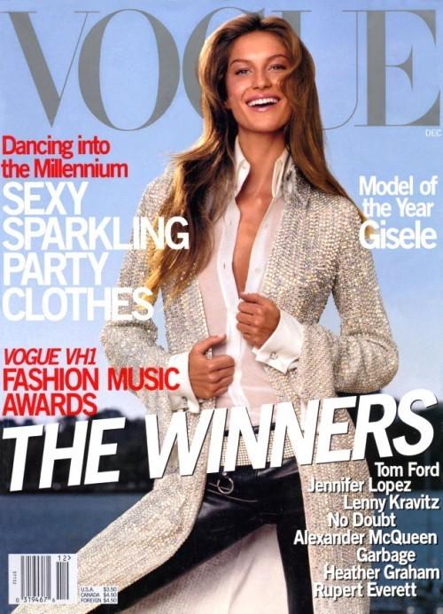 Вспомнить все или 11 обложек Жизель для Vogue US. Изображение № 3.