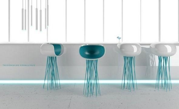 Изображение 5. Вещь: Стул-медуза .. Изображение № 2.