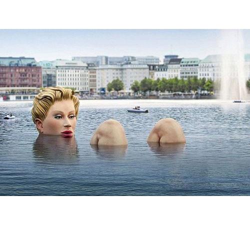 Гигантомания: 20 огромных скульптур современных художников. Изображение № 1.