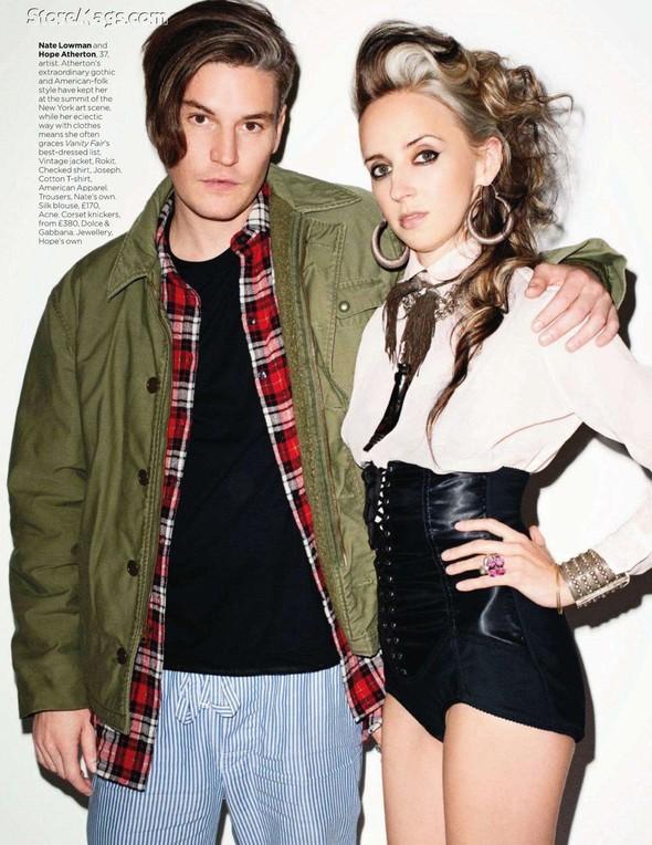 Съёмка: Терри Ричардсон для британского Vogue. Изображение № 16.
