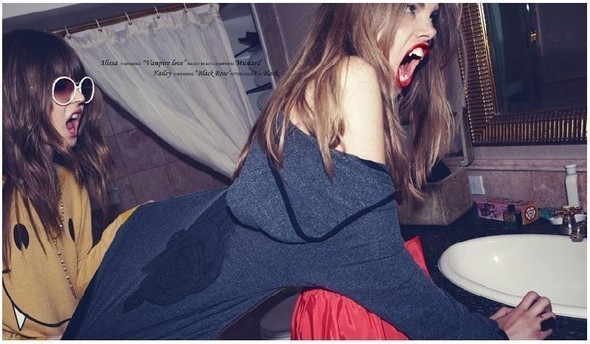 Vampires are forever! от wildfox couture. Изображение № 25.