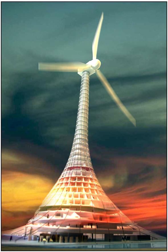 Сила ветра - наше зелёное будущее. Изображение № 9.