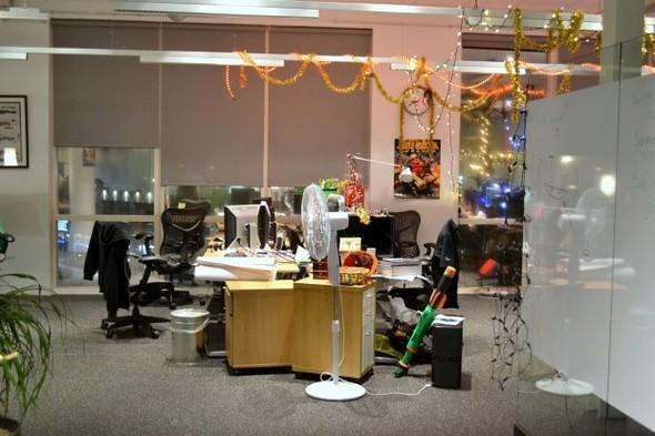 Студия CCP в Рейкьявике, где делают онлайн-игру EVE. Изображение № 12.