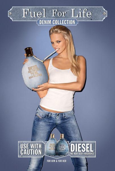 Изображение 2. Бьюти-кампании: Diesel и Dior.. Изображение № 2.