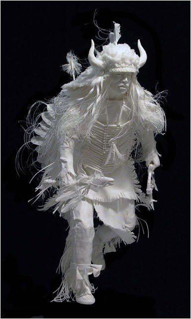Бумажные скульптуры. Изображение № 18.