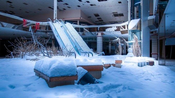 Фото: заброшенный торговый центр в США. Изображение № 18.