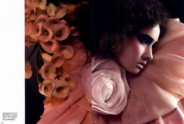 Цветы- этодействительно красиво( China Vogue, Ap2008). Изображение № 5.