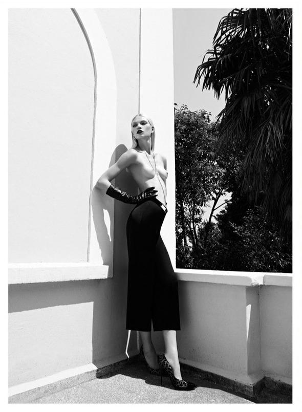 Съемки: Numero, Vogue, W и другие. Изображение №27.