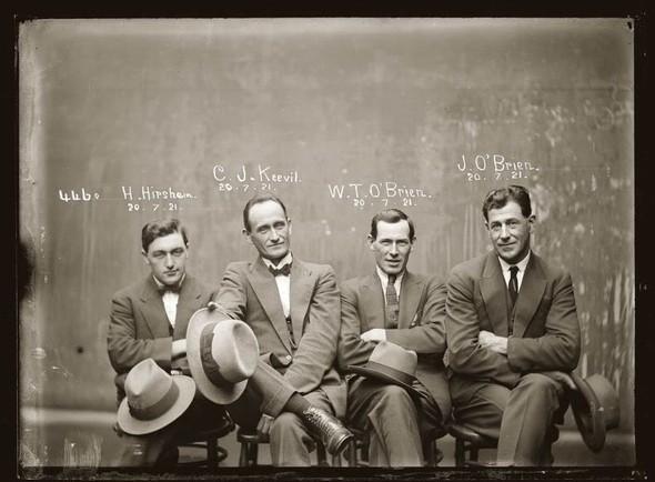 Фотографии американских гангстеров начала 20 века. Изображение № 23.