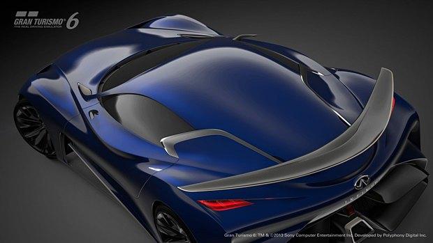 Концепт: суперкар Infiniti для игры Gran Turismo. Изображение № 33.