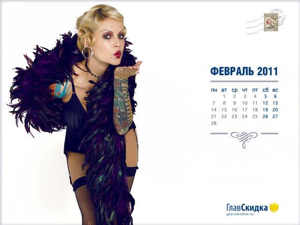 Не такие как у всех. Корпоративные календари 2011 года. Изображение № 2.