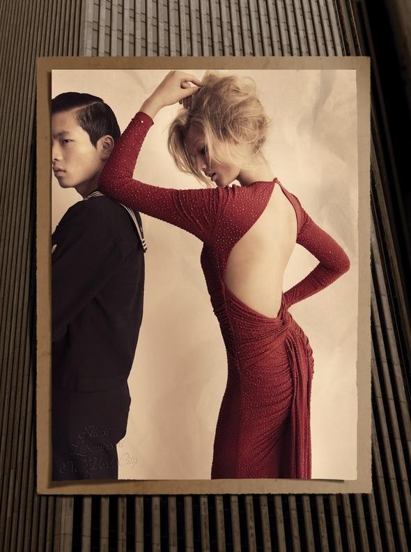 Съемки: Numero, Vogue, W и другие. Изображение №54.