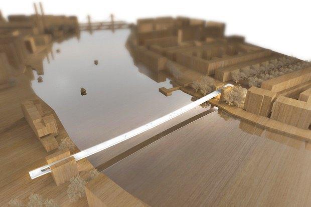 Выложены 74 проекта нового моста через Темзу. Изображение № 24.