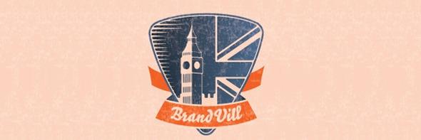 Винтажные логотипы вдохновляют. Изображение № 48.