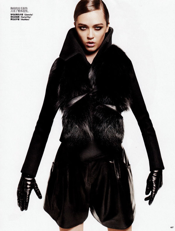 Vogue China – October 2009 – The New Fur. Изображение № 7.