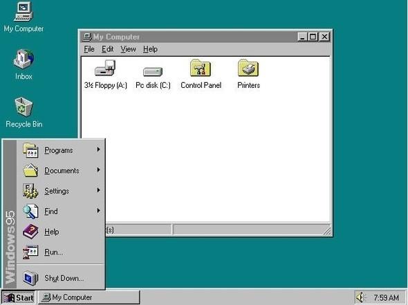 Изображение 5. Эволюция Windows.. Изображение № 5.