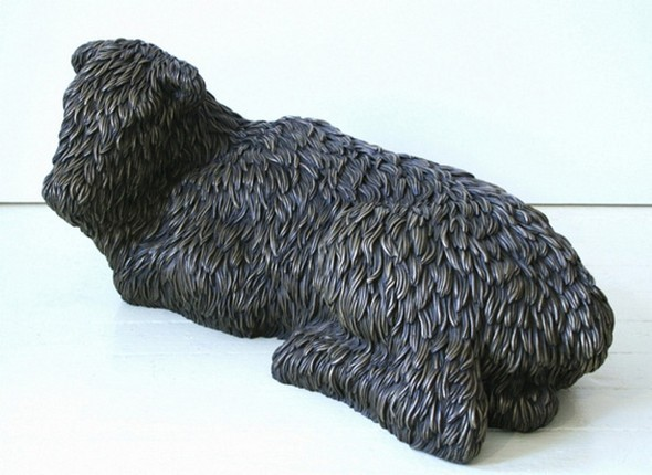 """""""Меховые"""" скульптуры из керамики, резины и бронзы. Изображение № 16."""