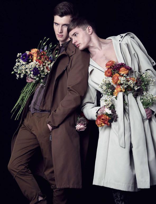 Изображение 6. Мужские весенне-летние коллекции в английском Attitude Magazine.. Изображение № 6.